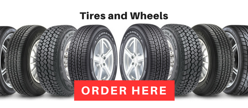 Tires and wheels available from The Used Car Guys