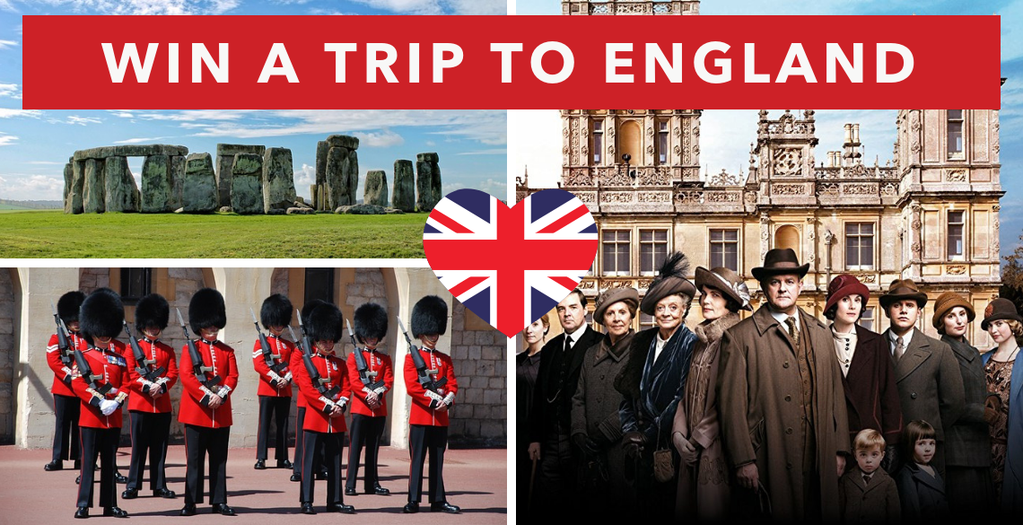 Win a Trip to Downton Abbey in England
